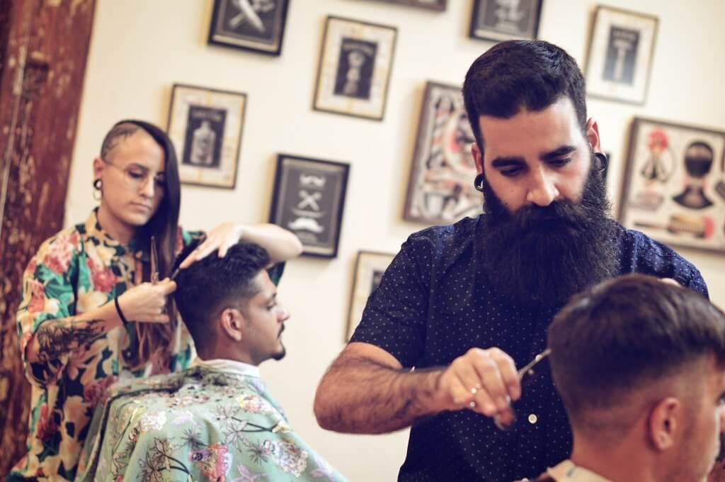Barbers Crew Barbería Malasaña Madrid Galería Barbero 6