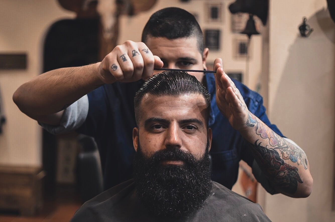 Slide Barbers Crew Arreglo Barba