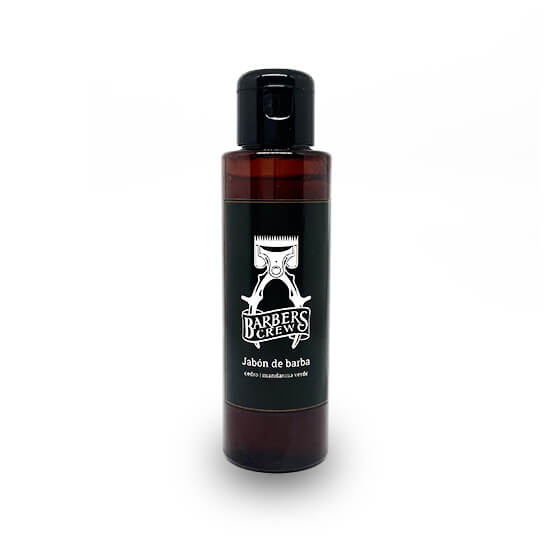 Jabón de barba Barbers Crew con aroma a madera